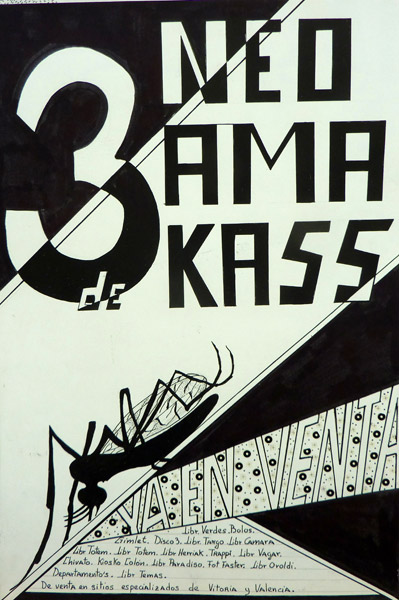 Cartel Neo Ama de Kass 3a