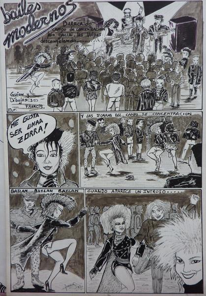 Comic Bailes Modernos
