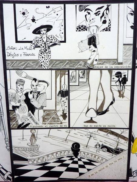 Comic La Mode