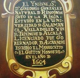 Gregorio González (detail)