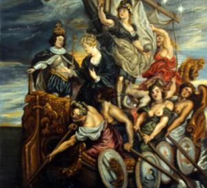 Mayoría de edad de Luis XIII