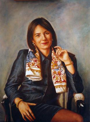 Retrato de Mirian Sangroniz