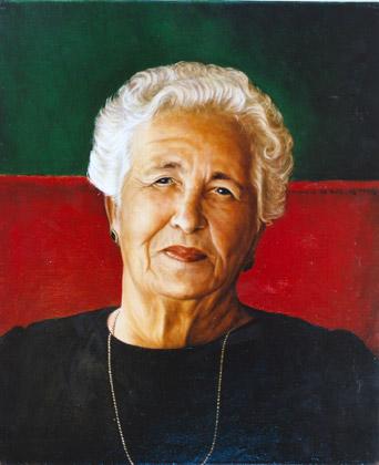 Retrato de Piedad Perez