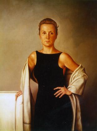 Retrato de Teresa Poirier