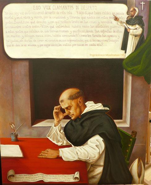 Retrato imaginario de Fray Bartolomé de Las Casas y de Fray Antonio Montesinos