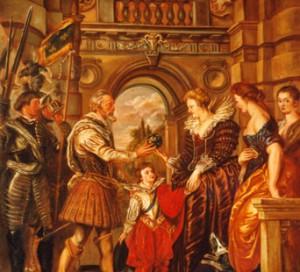 Henri IV part à la guerre
