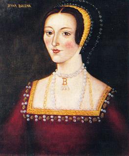 Retrato de Ana Bolena, serie de Enrique VIII