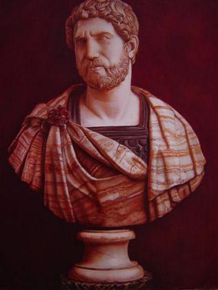Retrato del Emperador Romano Adriano