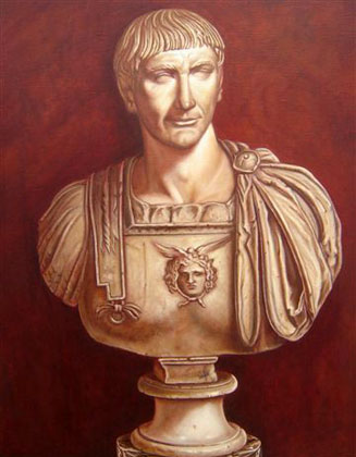 Retrato del Emperador Romano Trajano