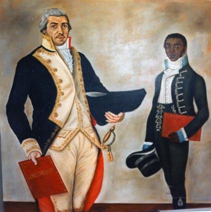 retrato historico vizcaino campos y ayudante