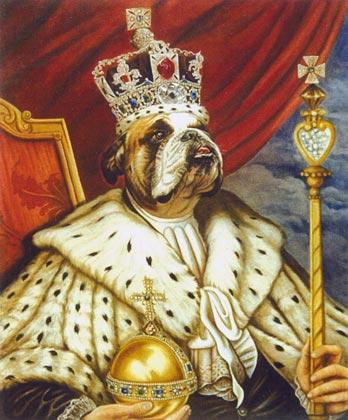 Retratos de perro, Fayet