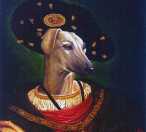Rotko, portrait of Galgo oil painting on canvas
