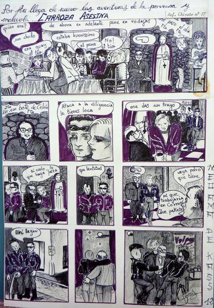 Comic La Carroza Asesina