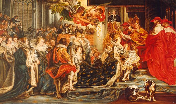 Coronación en St Denis