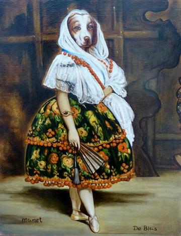 Lola de Manet retrato en venta
