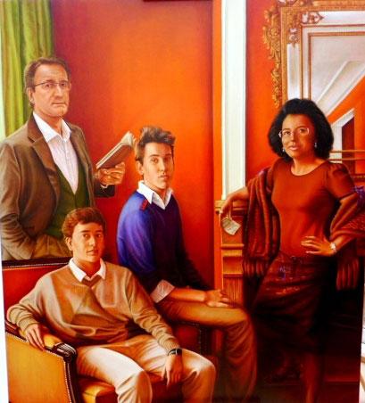 Retrato de familia Lopez de Armentia