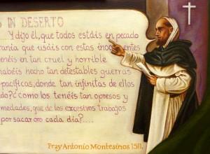 Antonio Montesinos (detail)