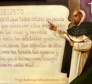 Antonio Montesinos (detalle)