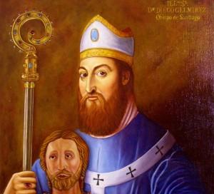 Diego Gelmírez, obispo de Santiago