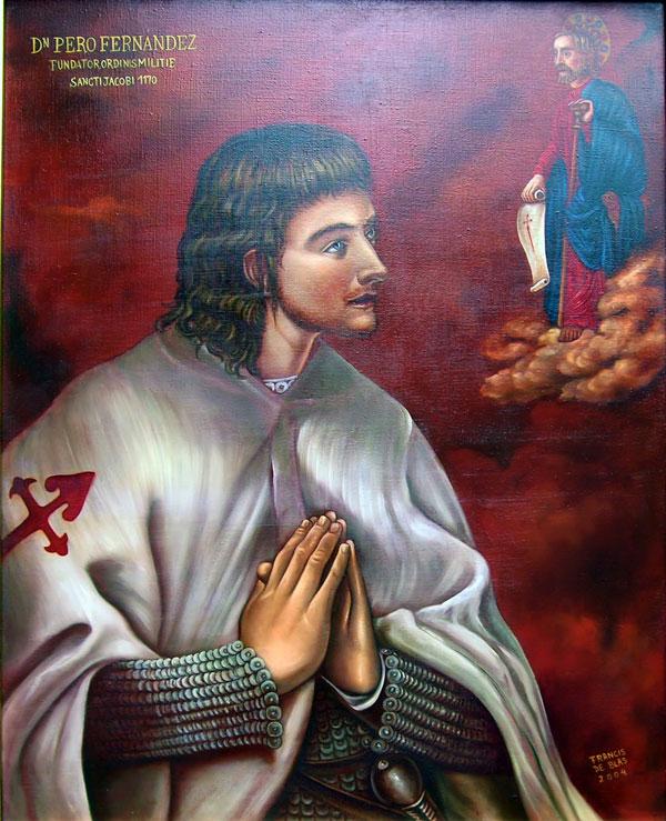 ilustre camino santiago Pero Fernandez