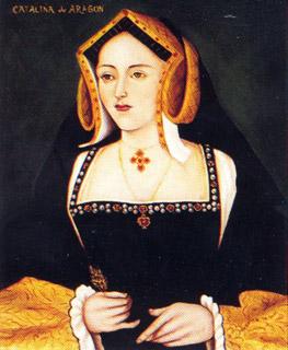 Retrato de Catalina de Aragón, serie de Enrique VIII