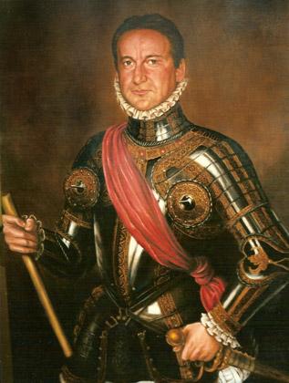 Retratos vestidos epoca, Alberto Marín en Juan de Austria