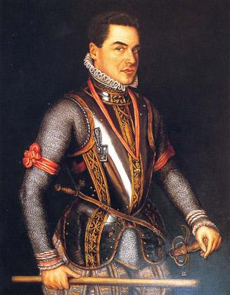retrato epoca José Luis G. Sainz en Felipe II