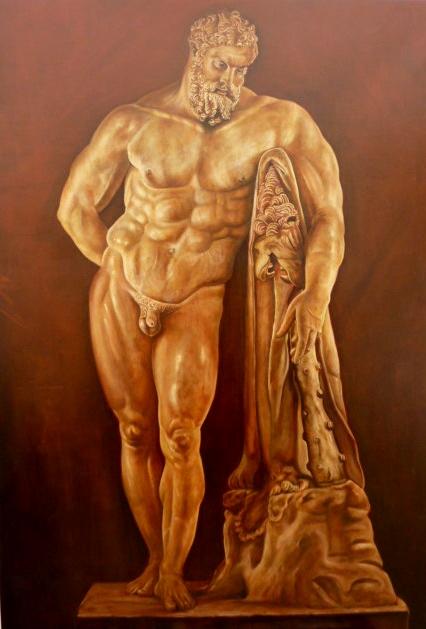 Hercules Farnesio. 116 x 81 cm